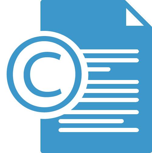 copyright form width
